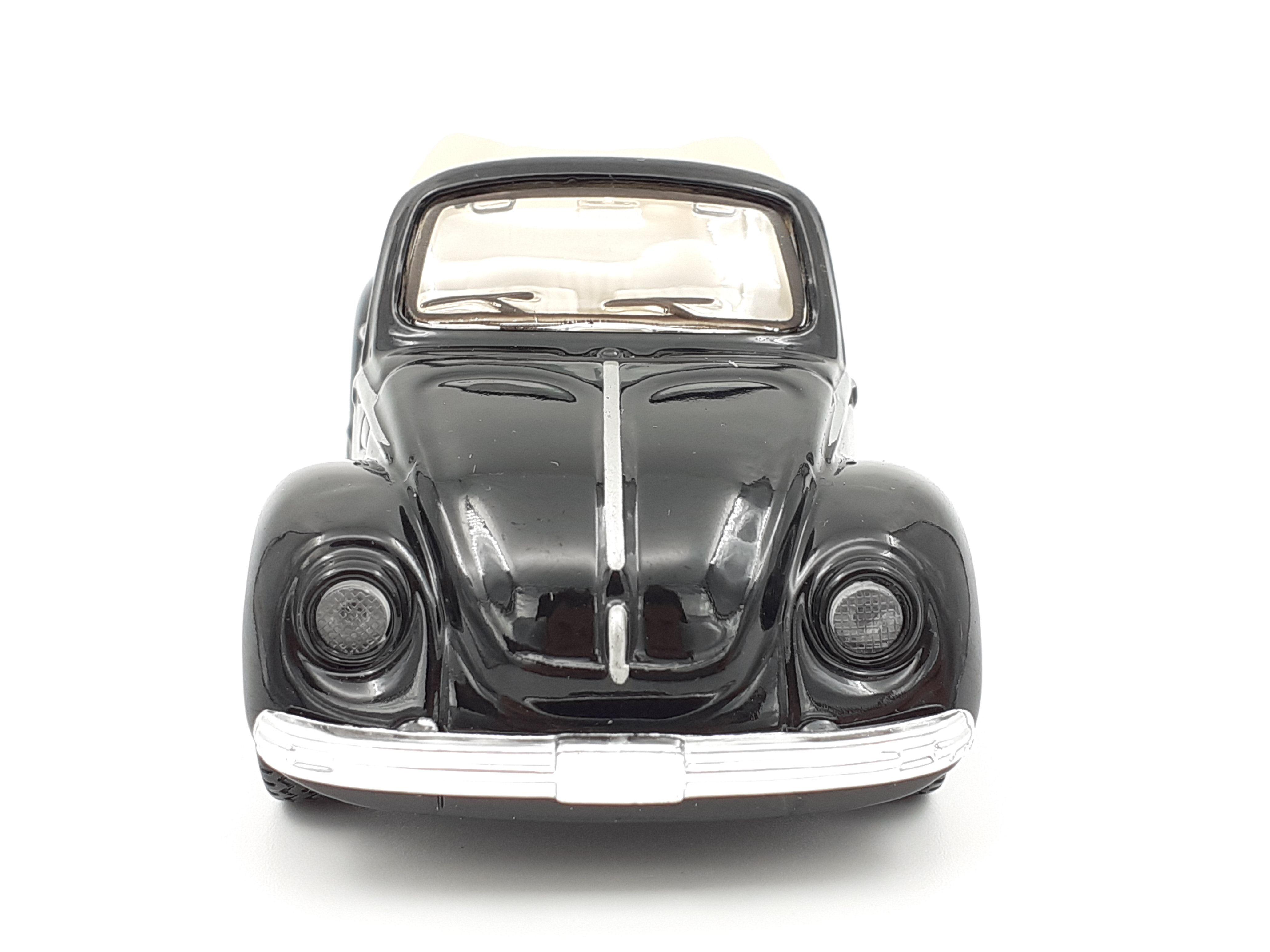 Maisto vozilo VV Beetle cabrio crni 1 : 36