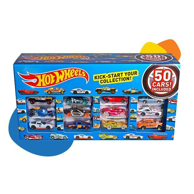 Hot Wheels set metalnih automobila od 50 komada
