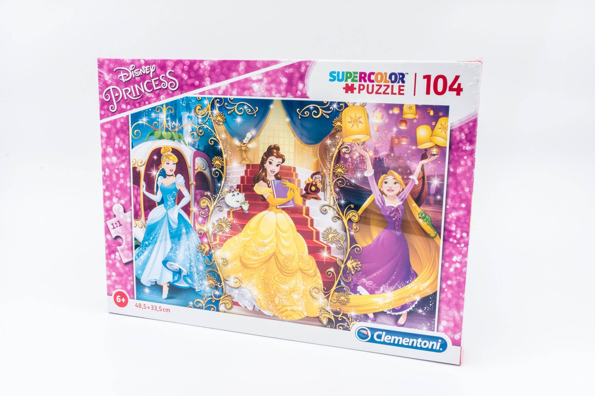 Clementoni Puzzle Princess 104