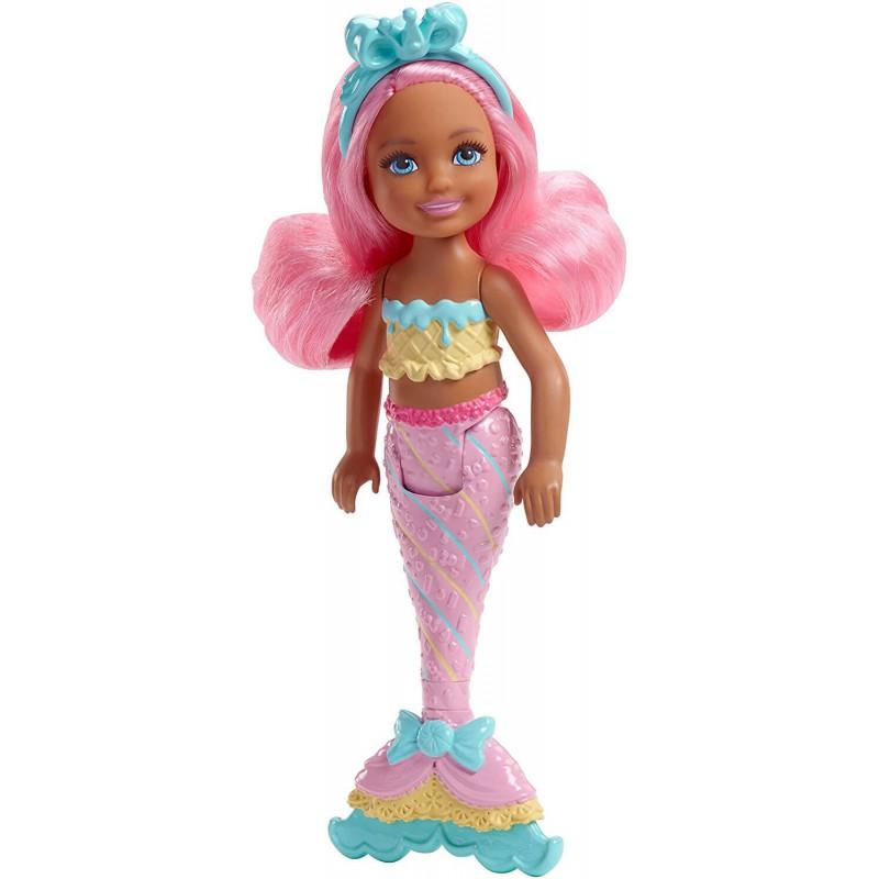 Barbie Dreamtopia Chelsea mini morska sirena sa roze kosom