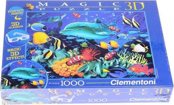 Clementoni 3D puzzle Morski Svet 1000 kom.