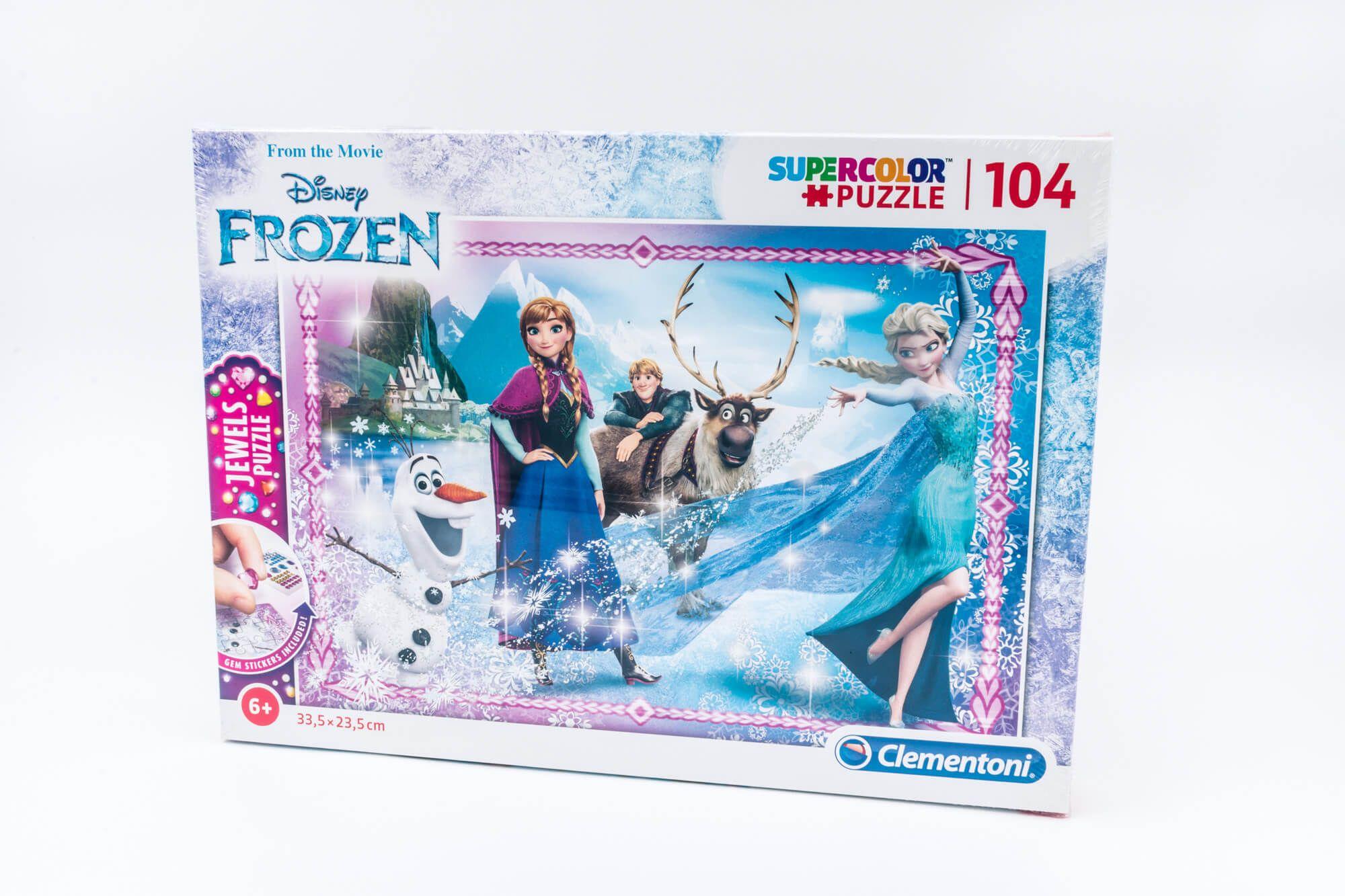 Clementoni Puzzle Frozen 104