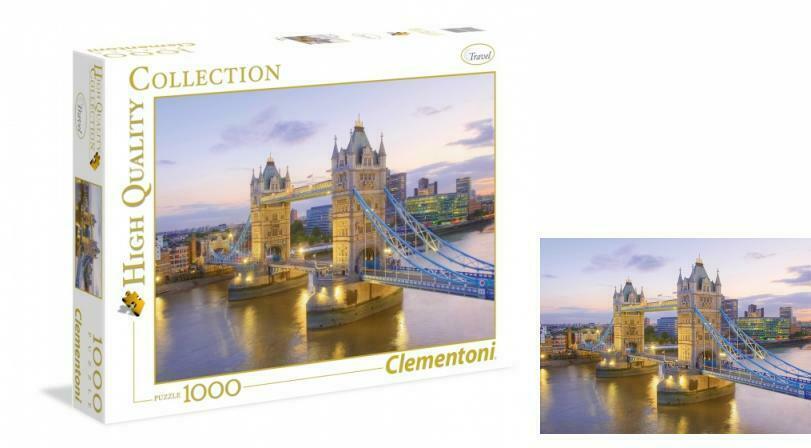 Clementoni puzzle Tower Bridge 1000 kom.
