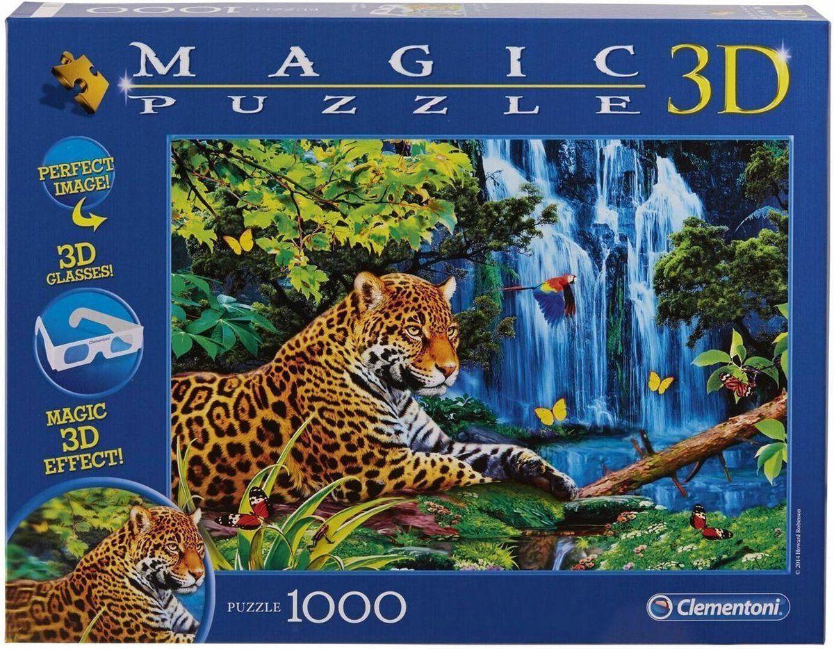 Clementoni 3D Jaguar Jungle 1000 kom.