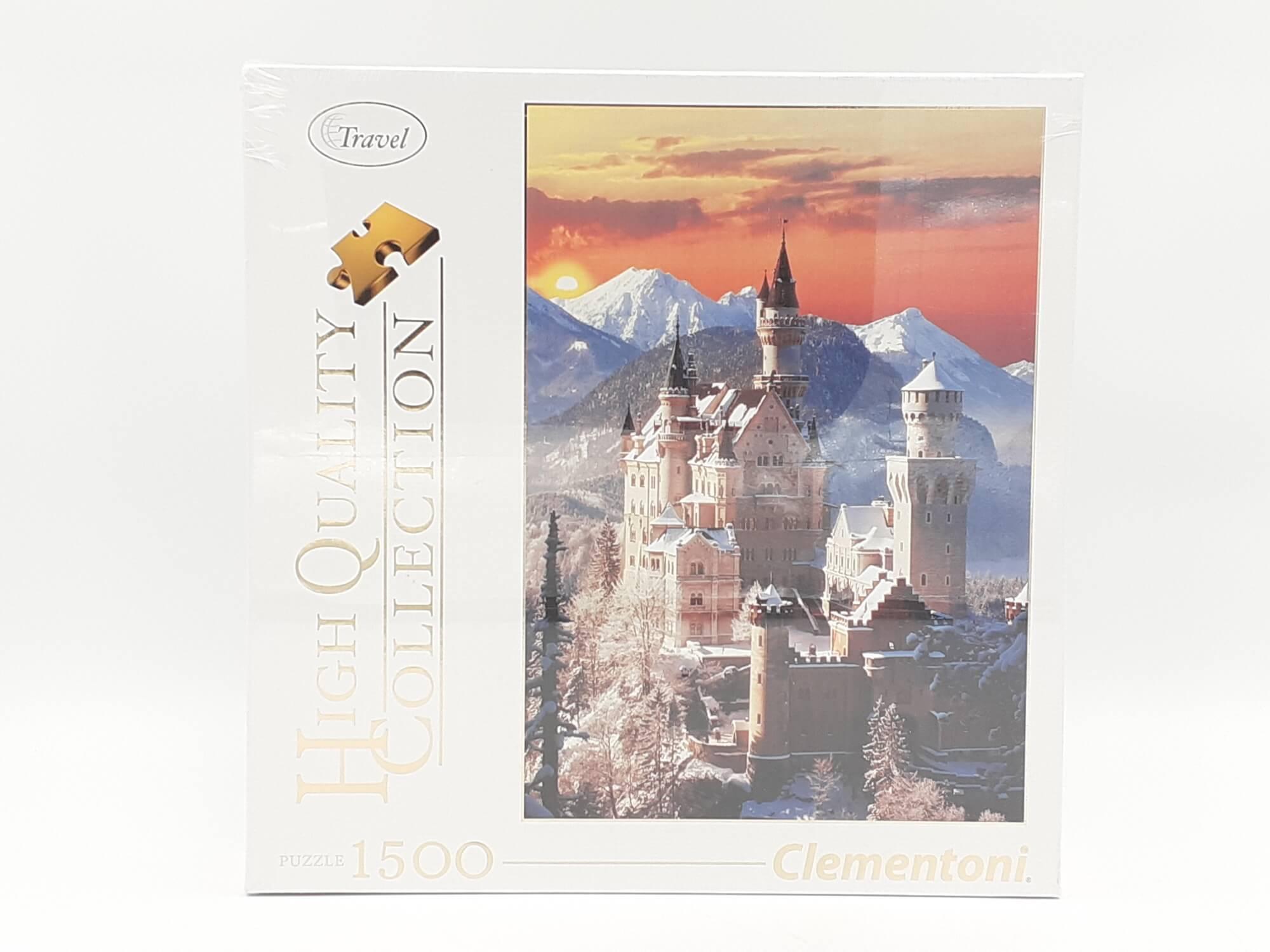 Clementoni puzzle Dvorac 1500 kom.