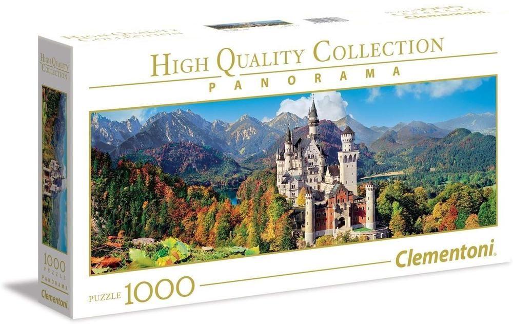 Clementoni puzzle Panorama Dvorac 1000 kom.