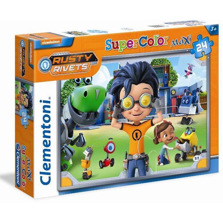 Clementoni puzzle Rusty Rivets 24 komada 24062