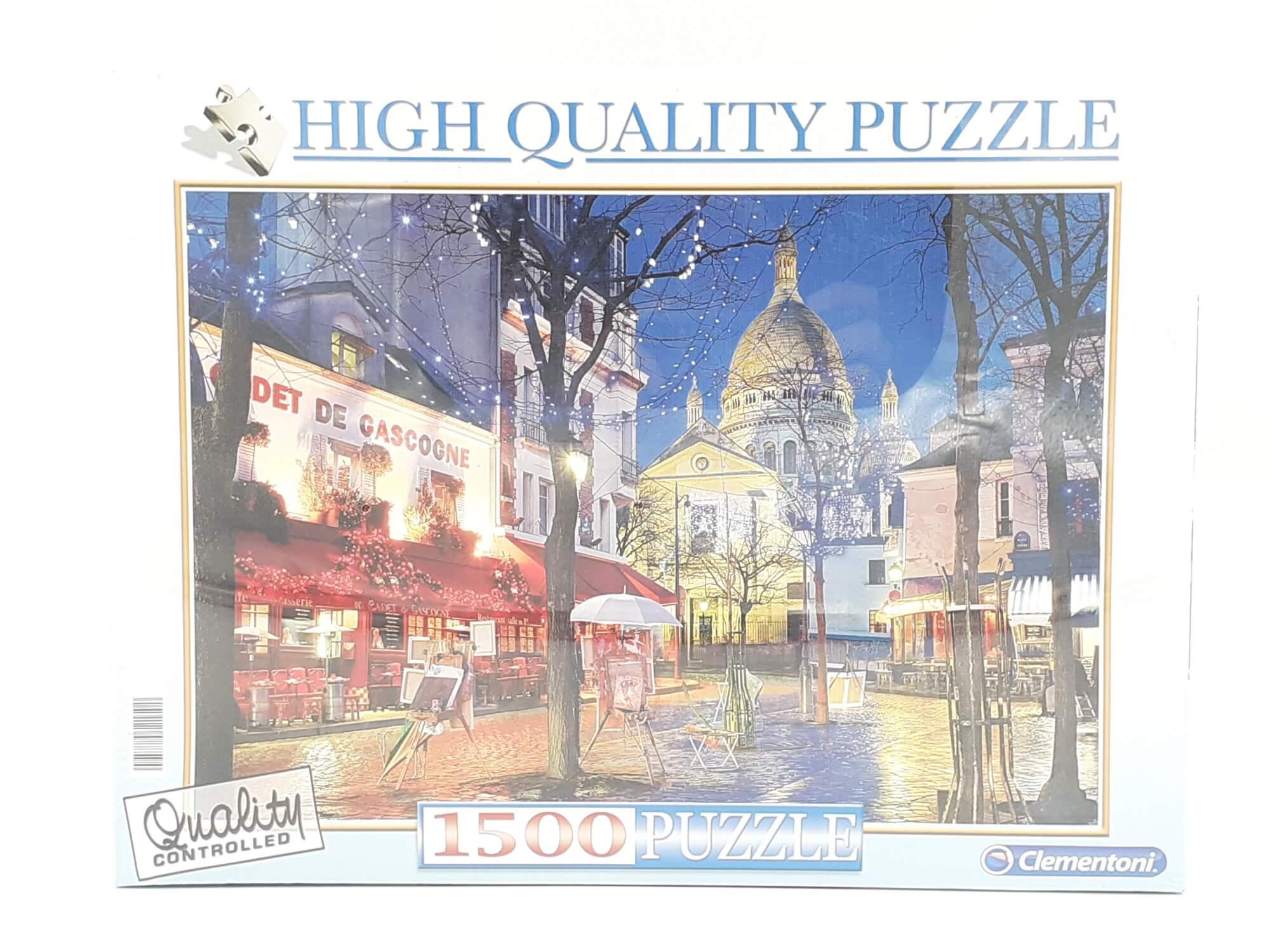 Clementoni puzzle Le Mont Saint Michel 1500 kom.