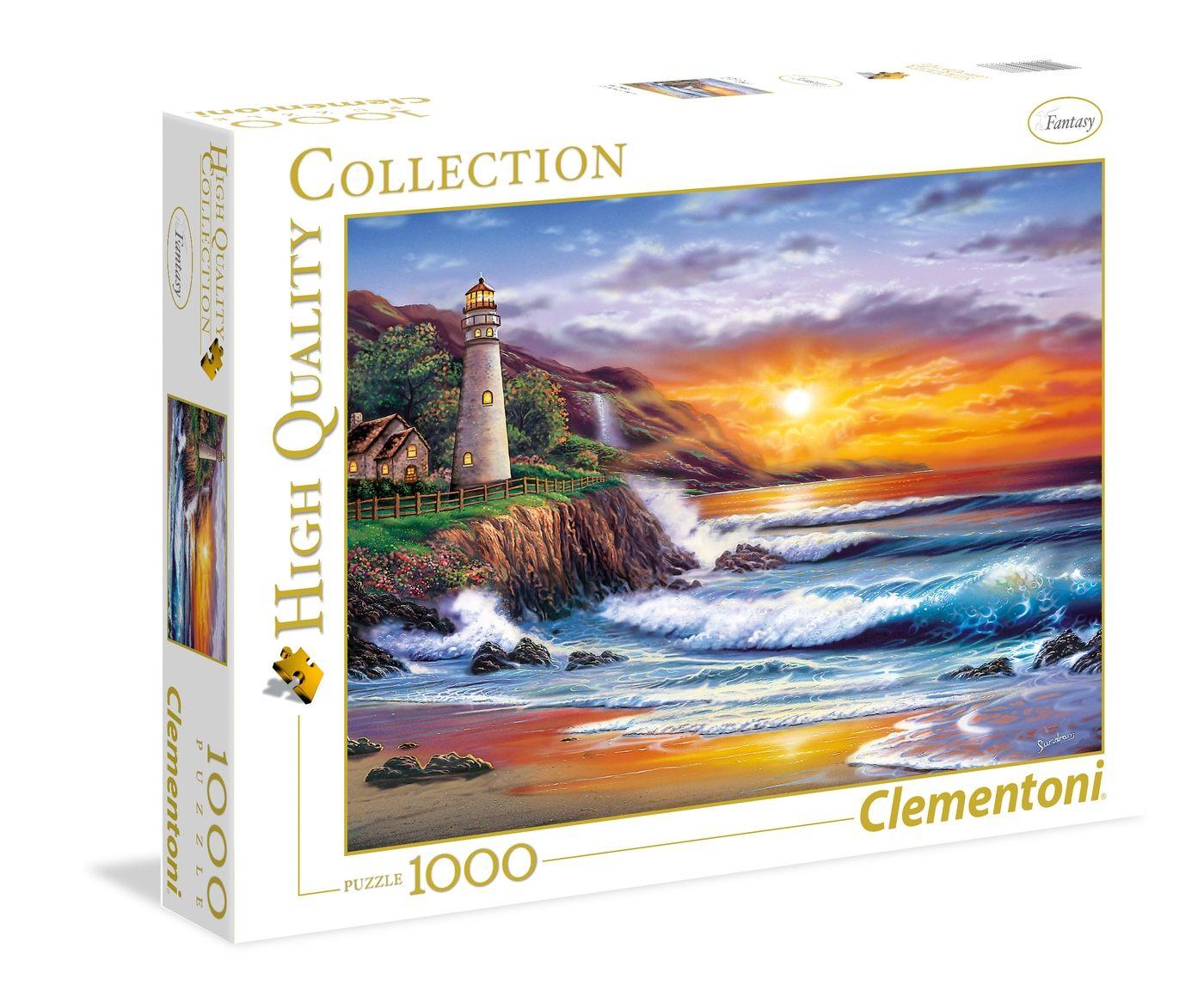 Clementoni puzzle Svetionik 1000 kom.