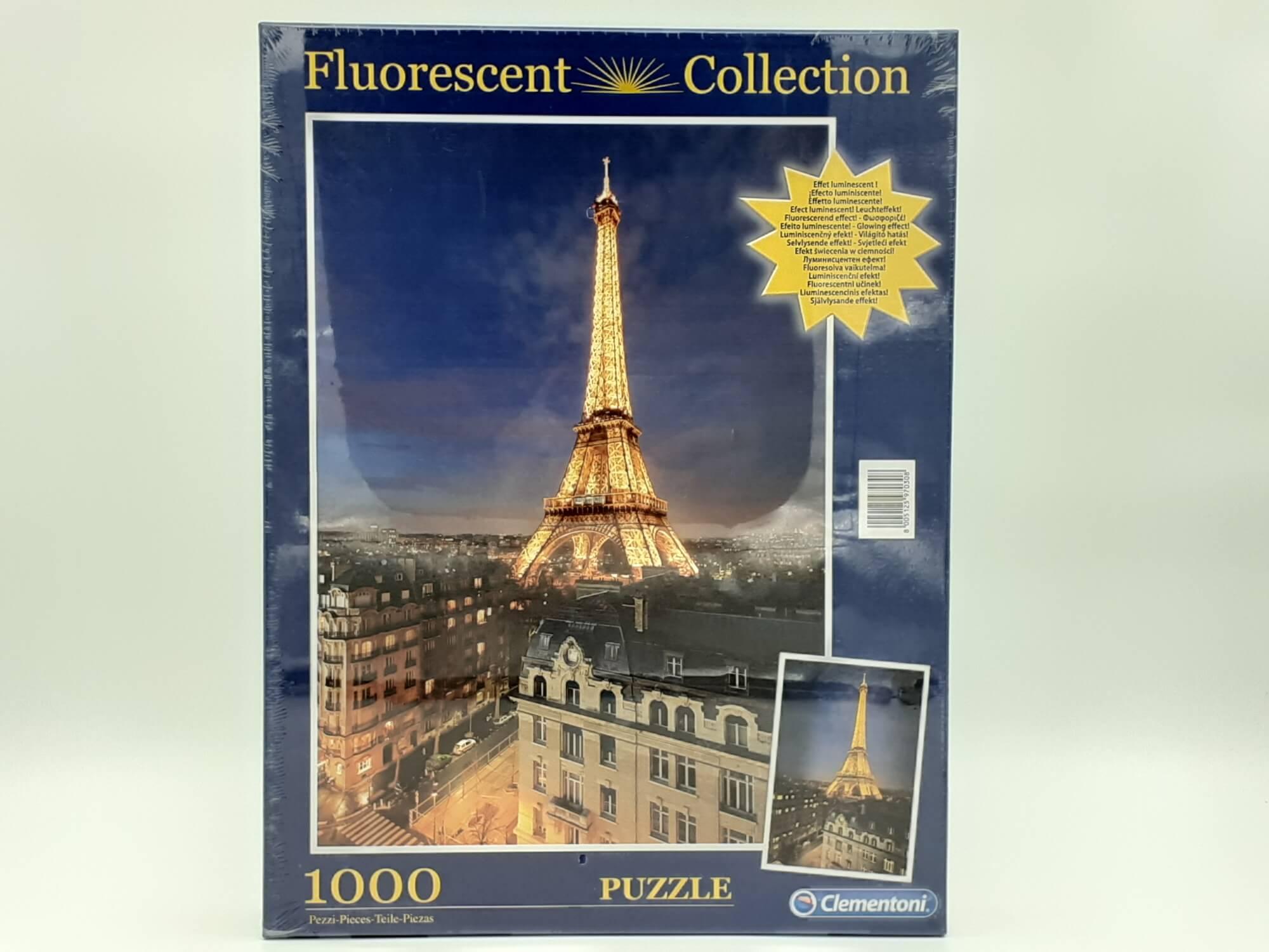 Clementoni puzzle Ajfelov toranj 1000 kom.