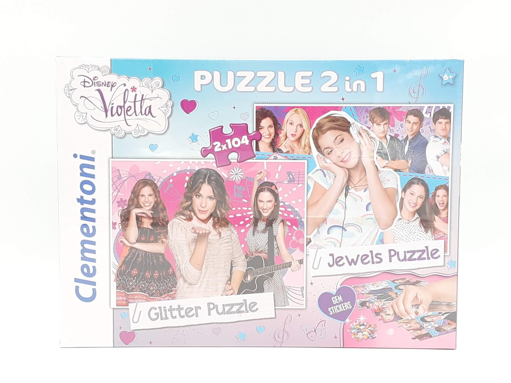 Clementoni Disney Violetta puzzle 2 u 1