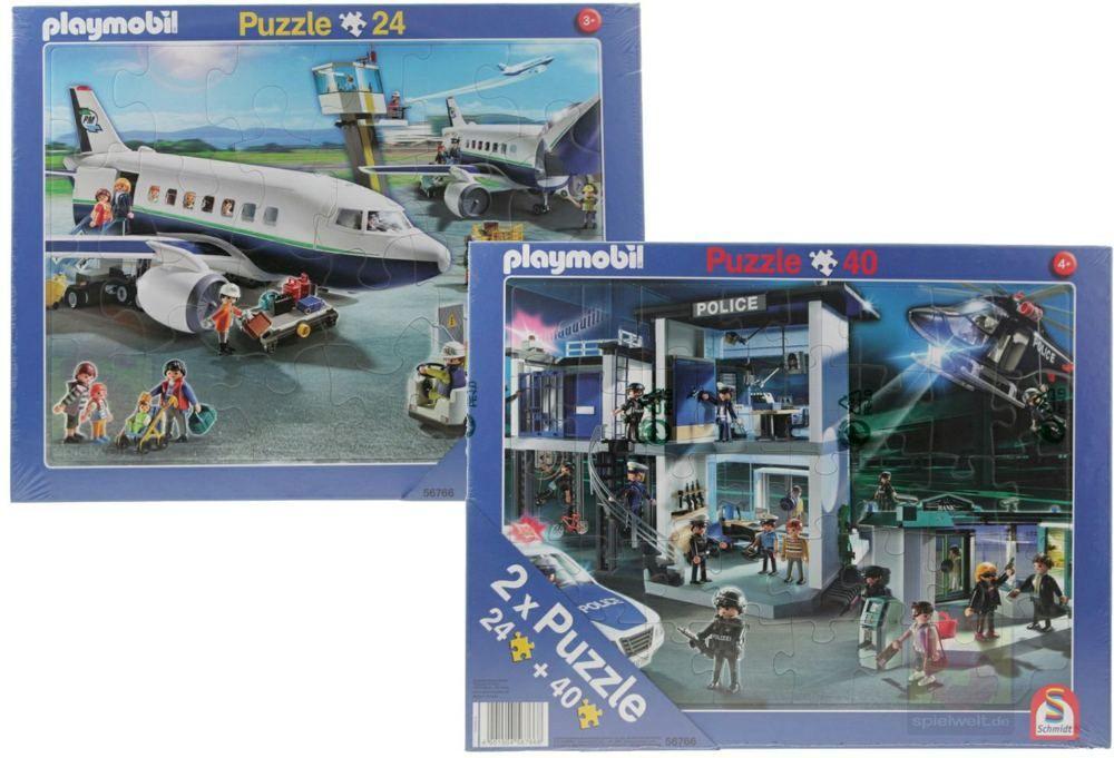 Playmobil puzzle 2u1 24+40 kom.