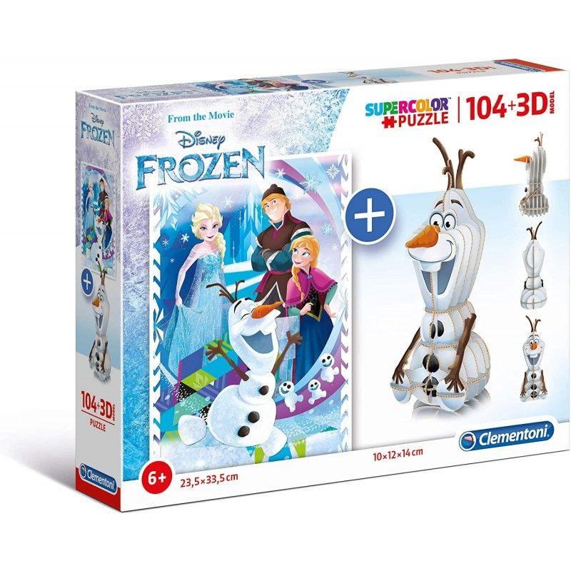 Clementoni Disney Frozen 104+3D model