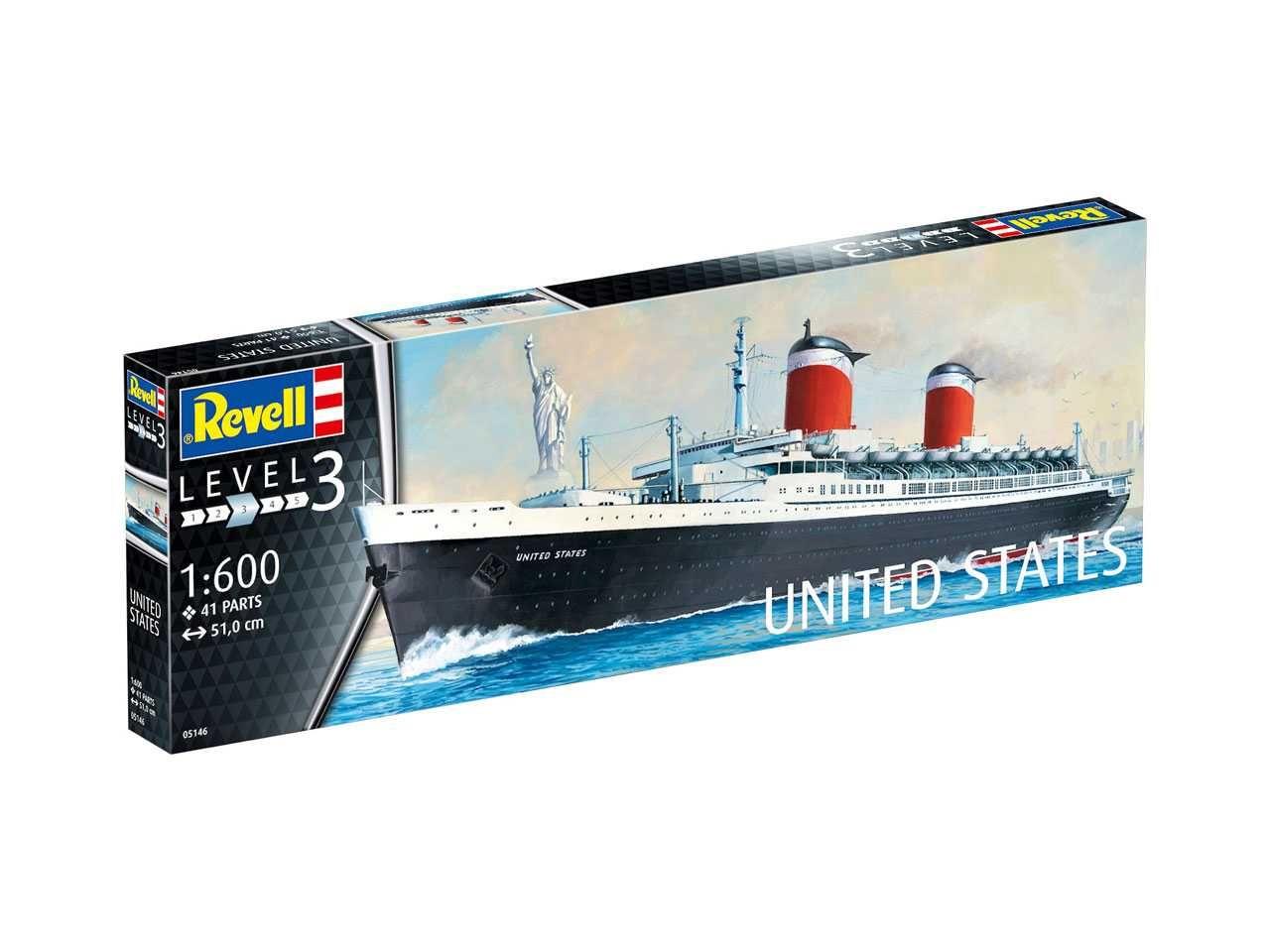 Revell maketa United States 1:600