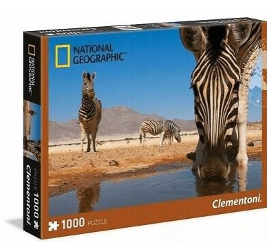 Clementoni National Geographic puzzle Zebra 1000 kom.