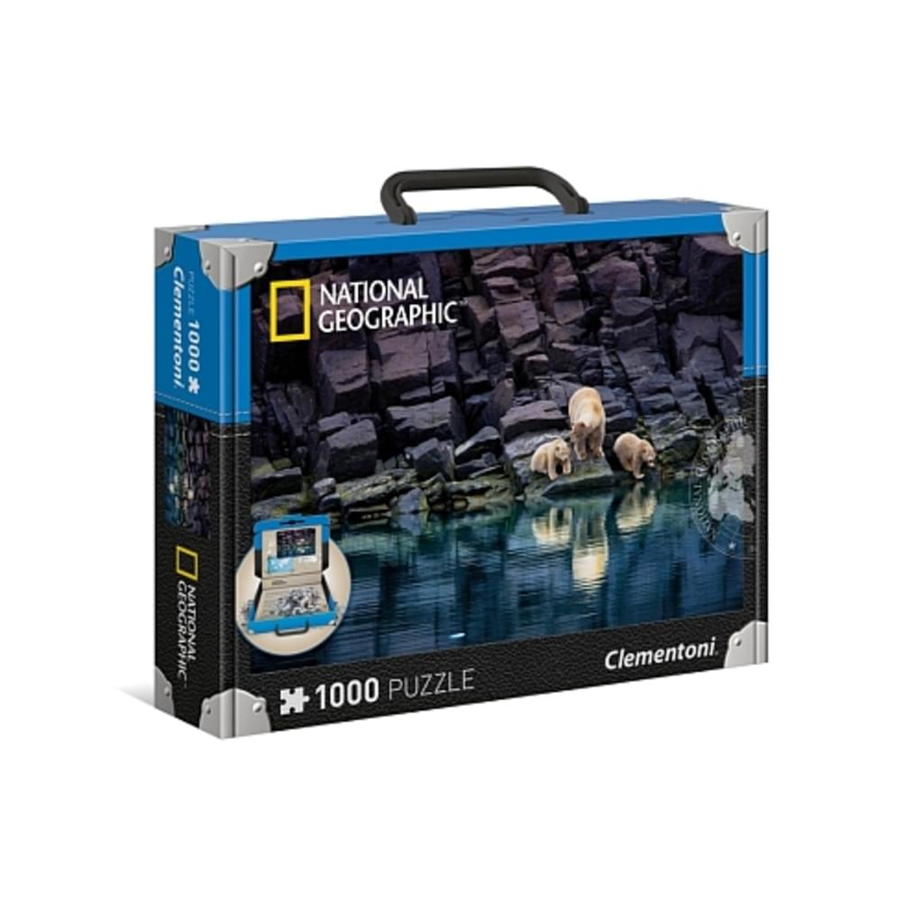 Clementoni National Geographic puzzle polarni medved 1000del
