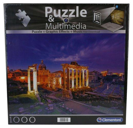 Clementoni Multimedia puzzle Rim 1000 kom.