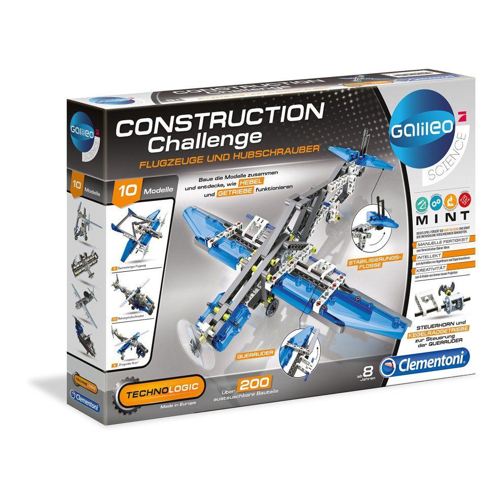 Clementoni Galileo konstrukcijski izazov avioni i helikopteri
