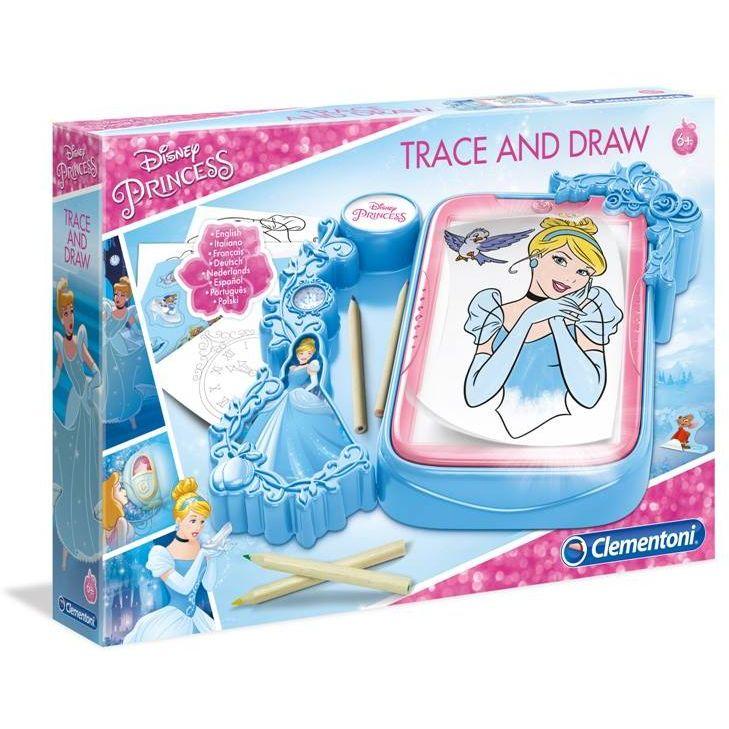 Clementoni Disney Princess tabla sa svetlom za crtanje