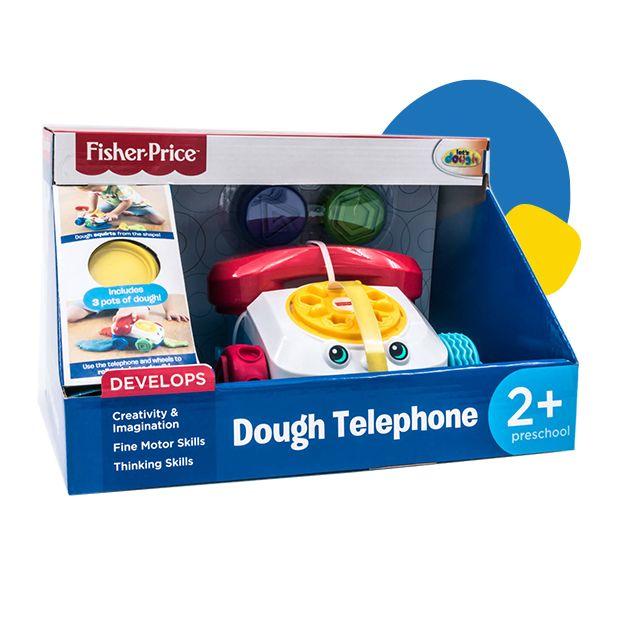Fisher Price telefon za igru sa plastelinom