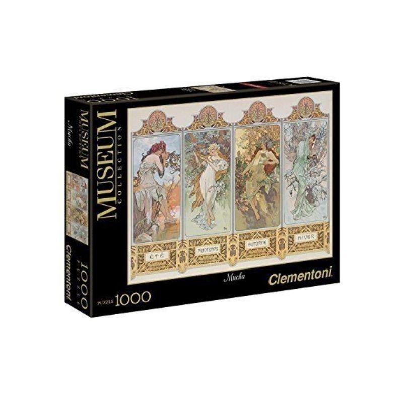 Clementoni puzzle Četiri Godišnja Doba 1000 kom.