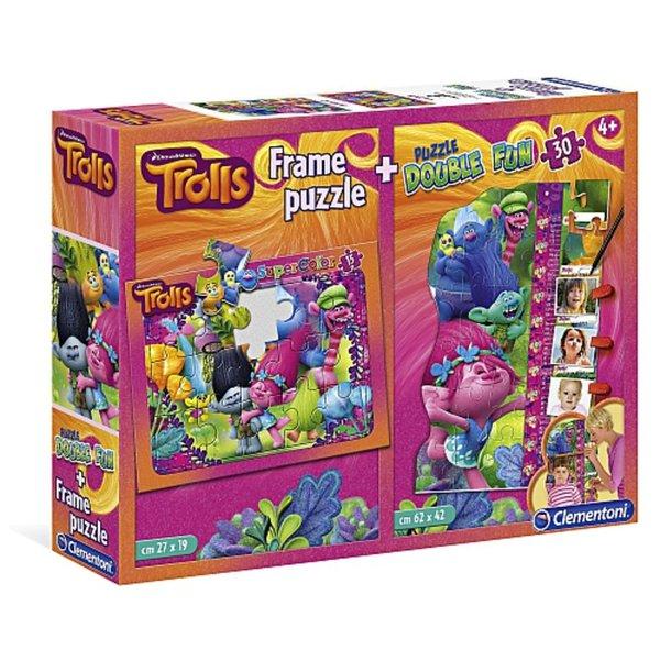 Trolls puzzle 2u1