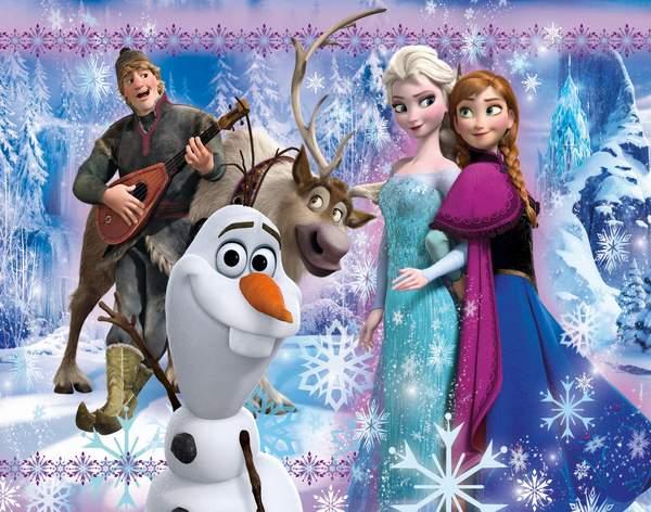 Clementoni puzzle Frozen 100 kom.