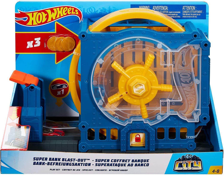 Hot Wheels Super Bank Trezor