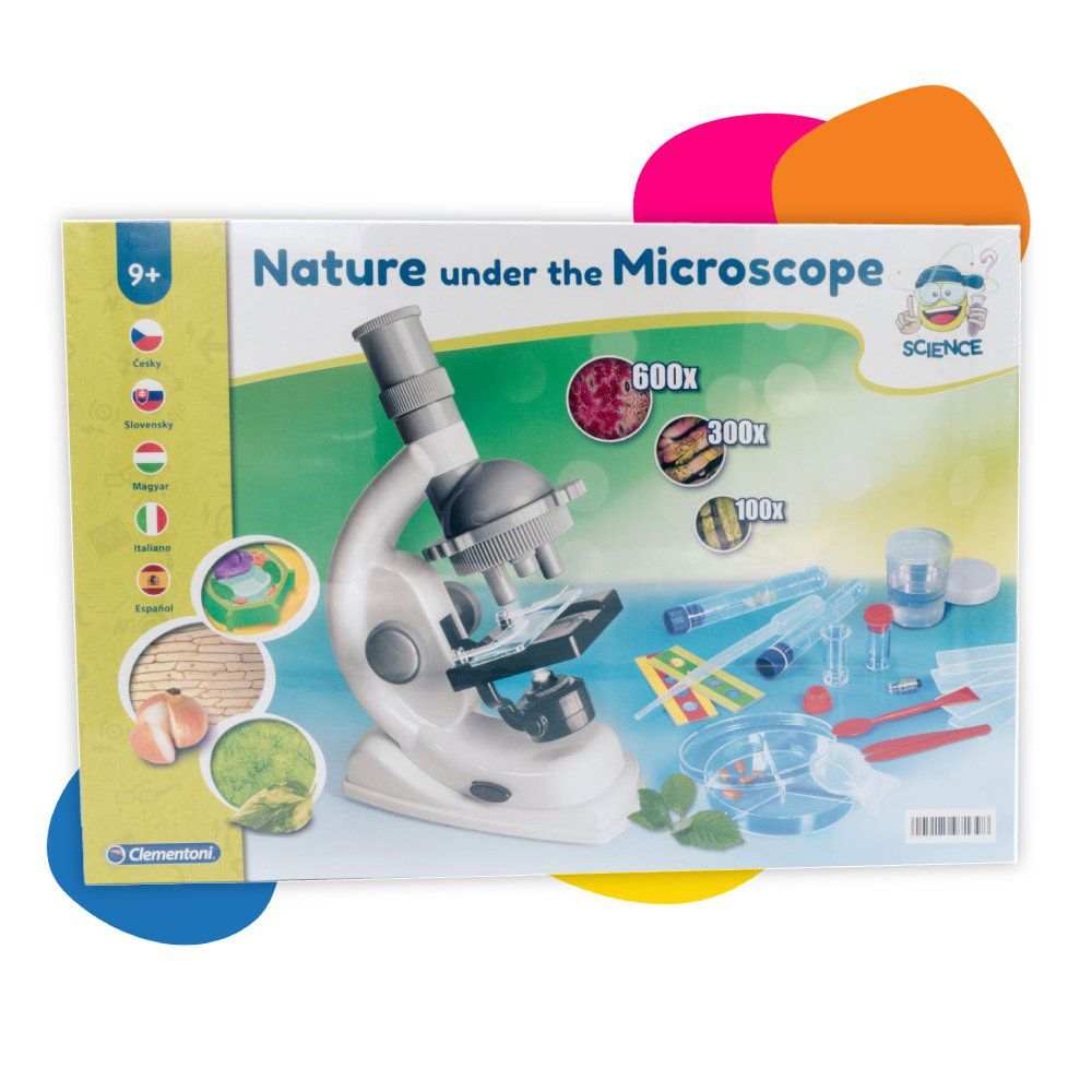 Clementoni science Priroda pod mikroskopom