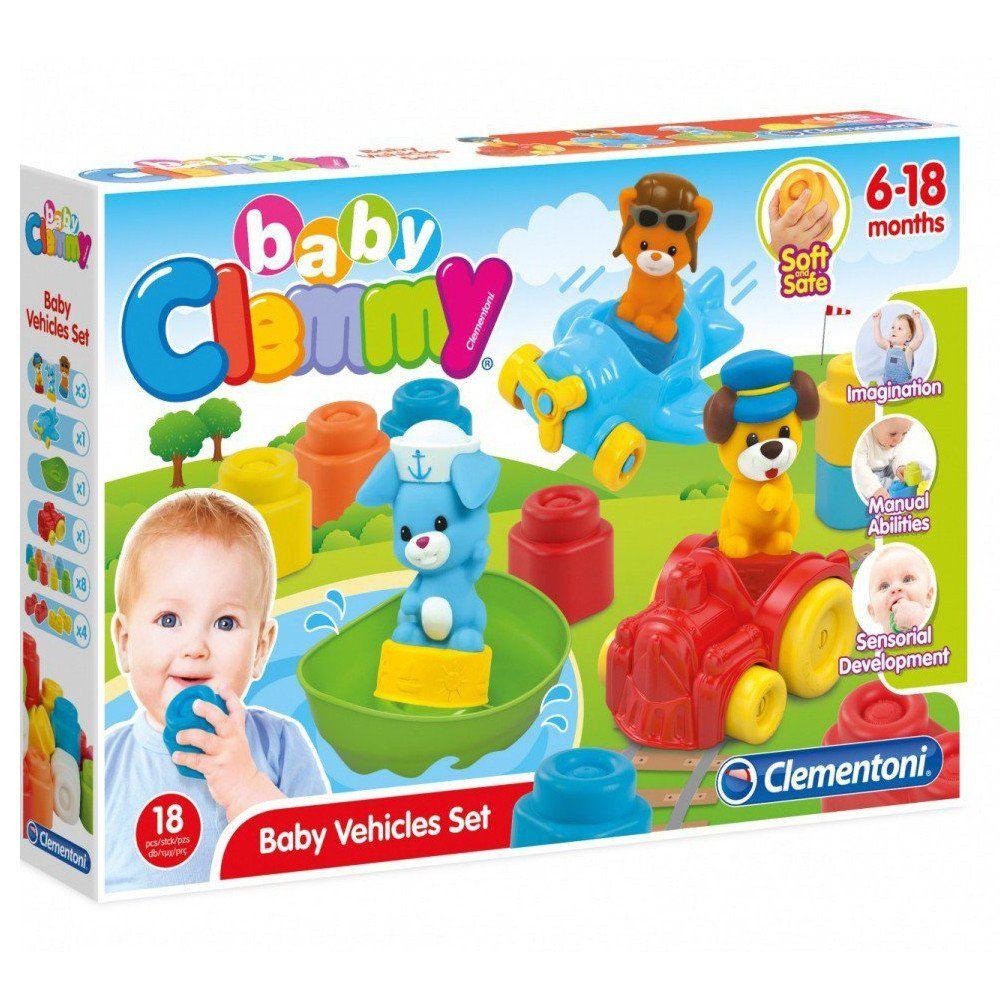 Clementoni kockice za bebe vozila