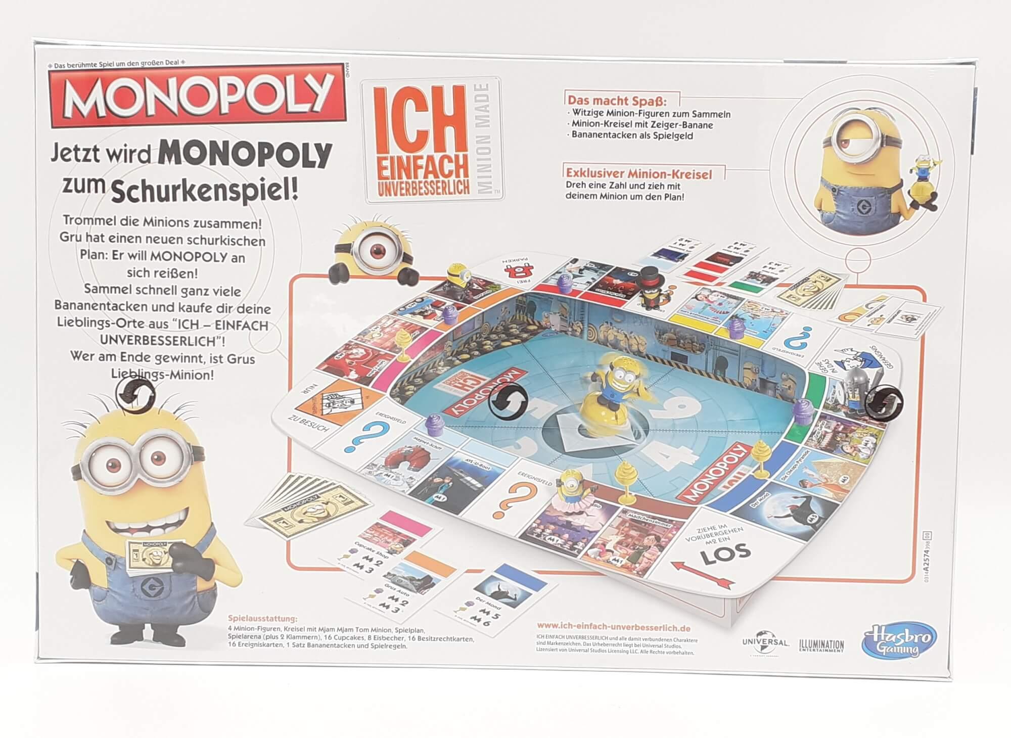 Hasbro društvena igra Minions Monopol