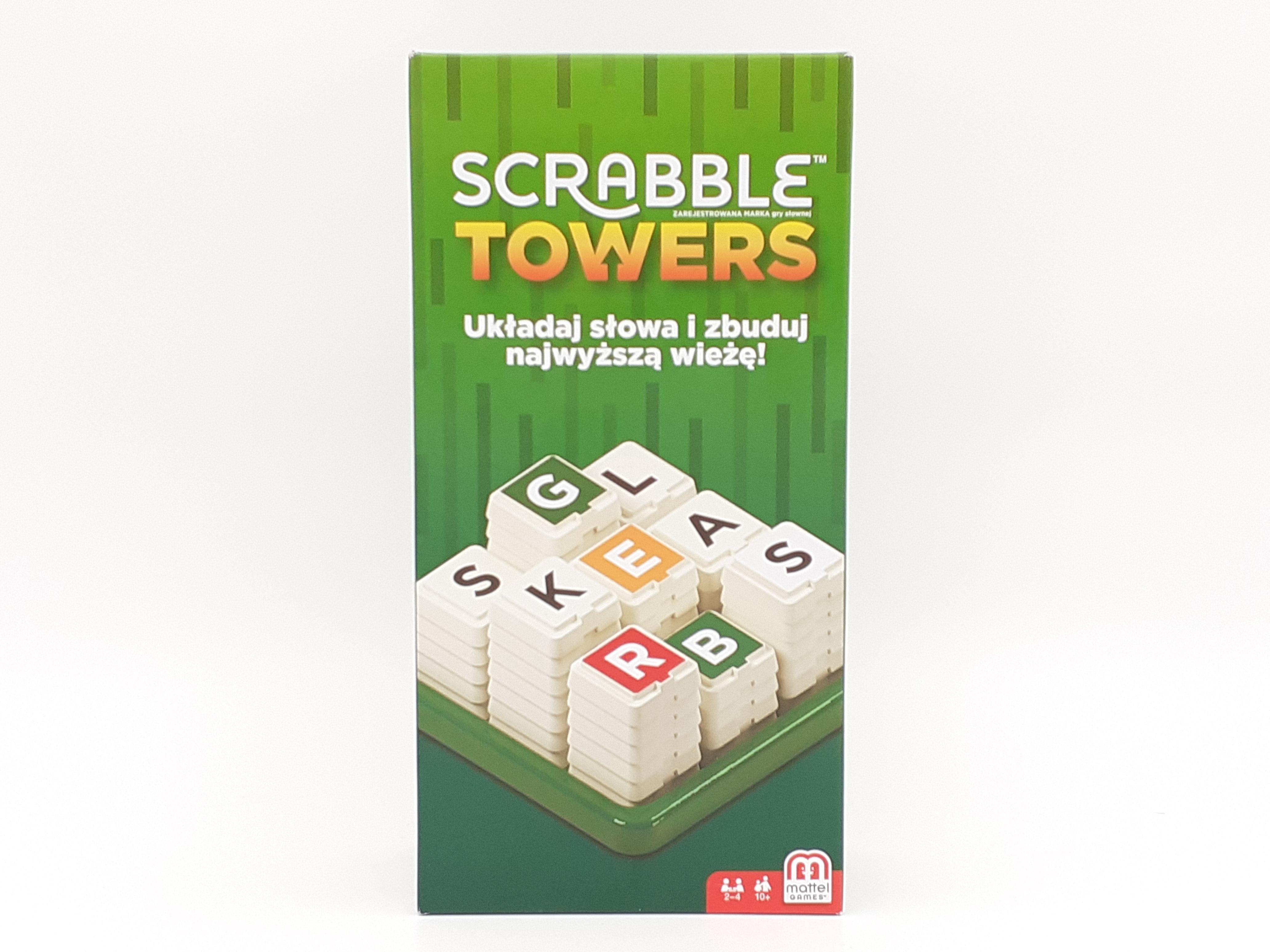 Društvena igra Scrabble Towers