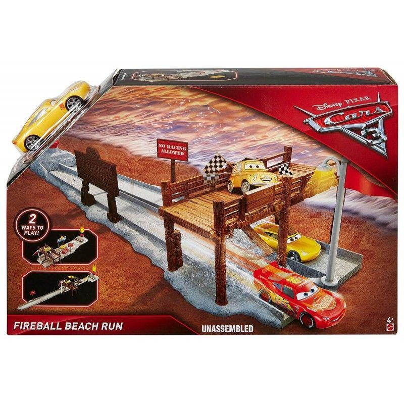 Cars komplet za igru Fireball Beach Run