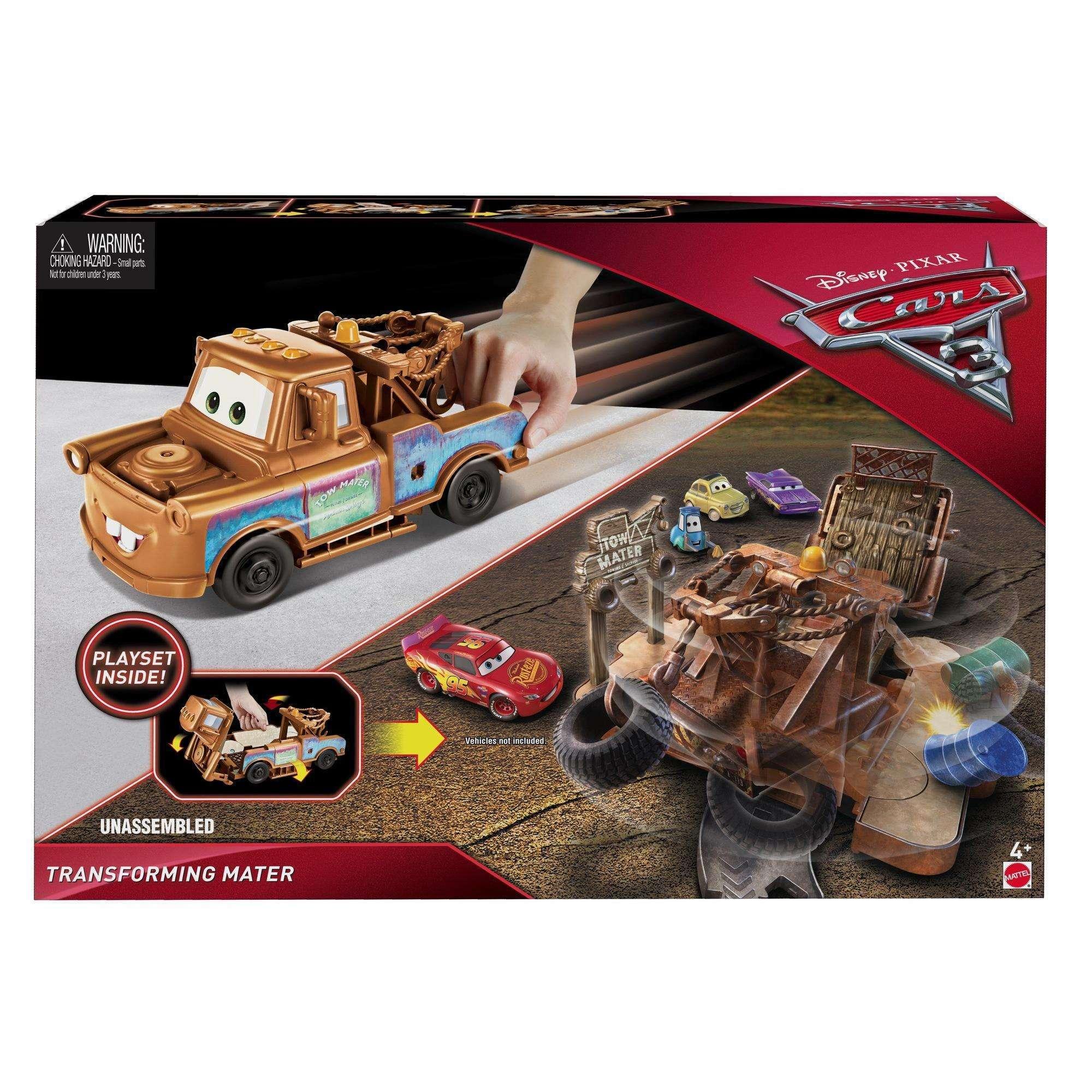Cars 3 set za igru Transforming Mater
