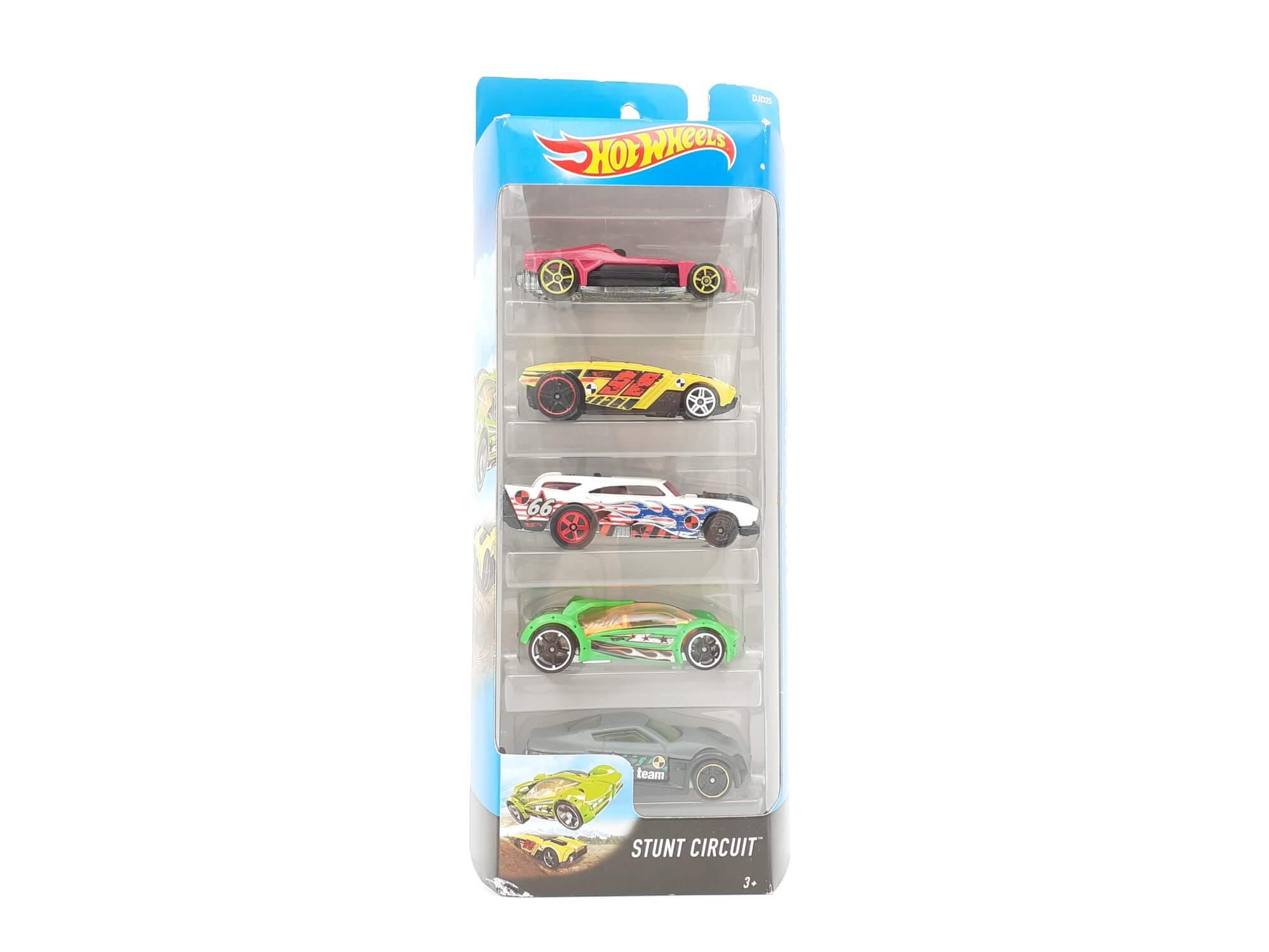 Hot Wheels set automobila Stunt Circuit