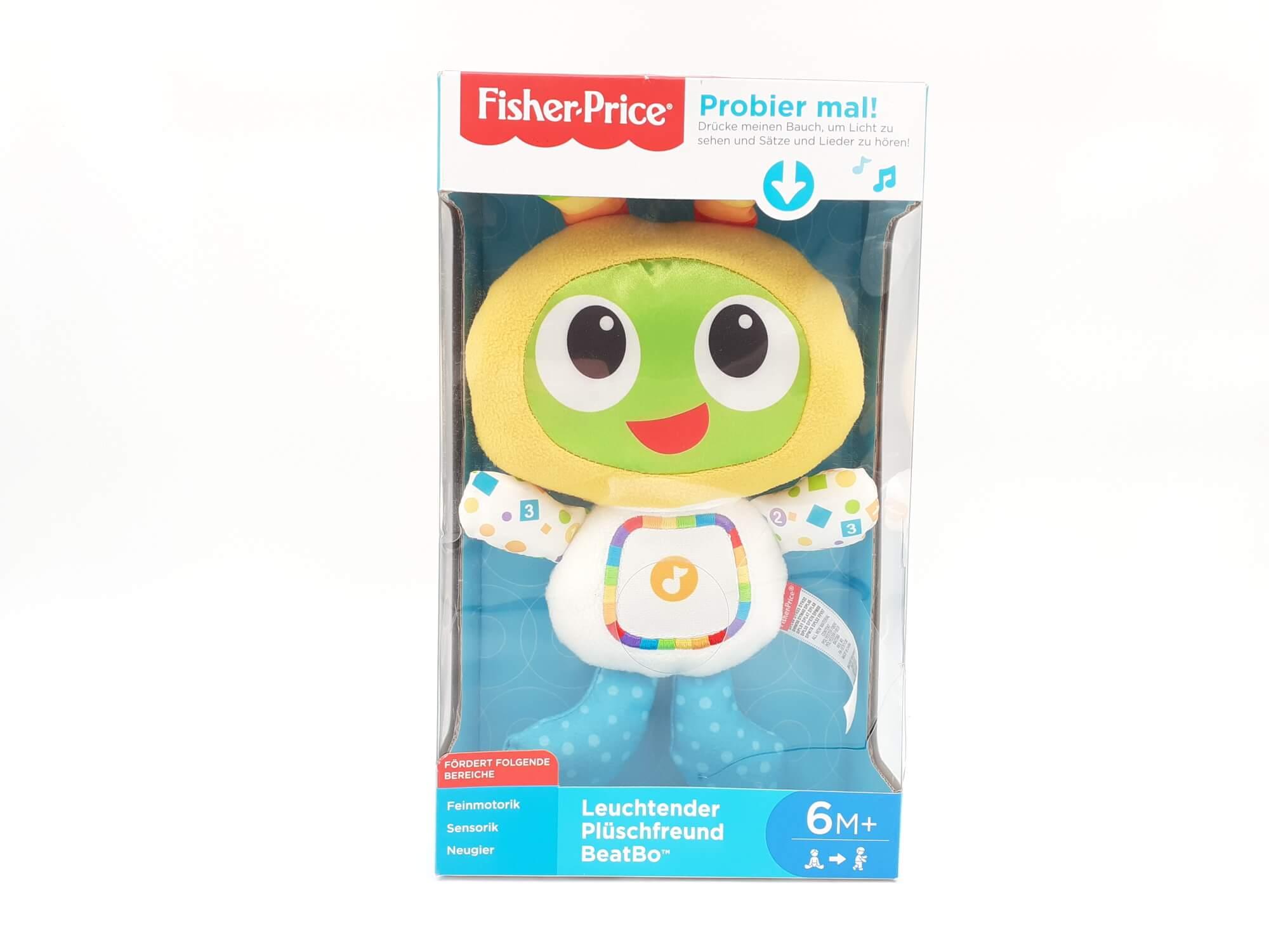 Fisher Price muzička igračka za bebe - Nemački jezik - oštećeno pakovanje