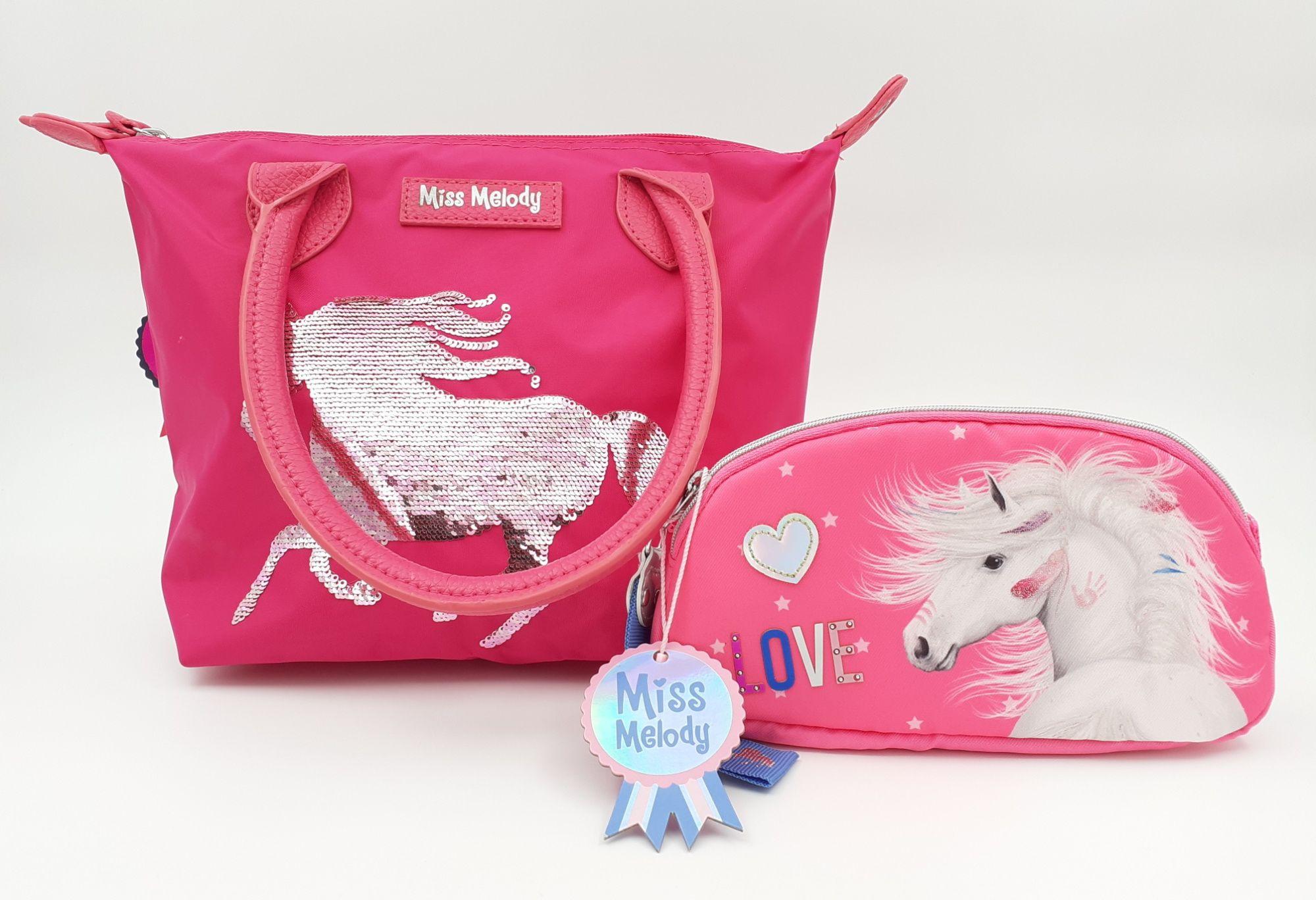Depesche Miss Melody torba i neseser roze SET 2 u 1