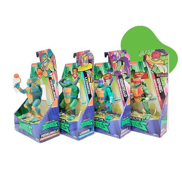 Ninja Turtles Nindža Kornjače SET  figura 4 u 1