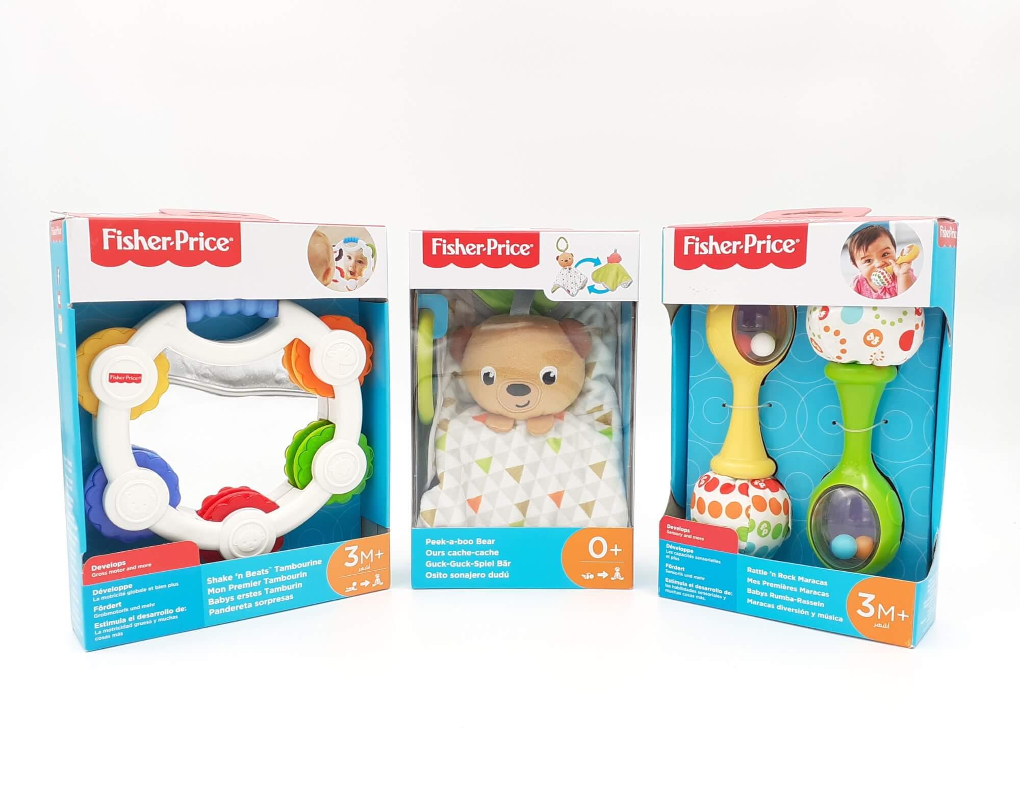Fisher Price SET za bebe 3 u 1