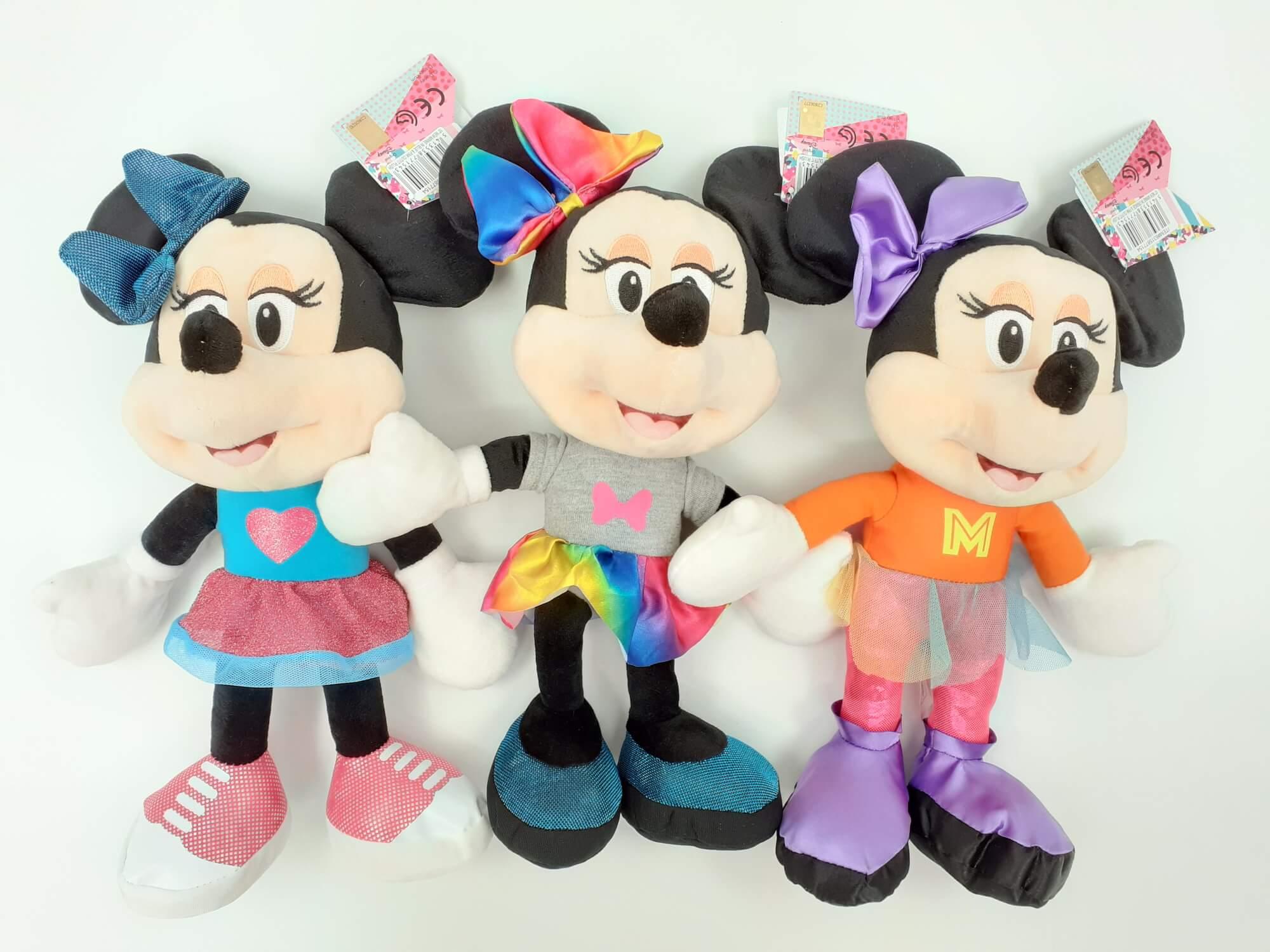 Disney Minnie Mouse SET plišanih figura 3 u 1