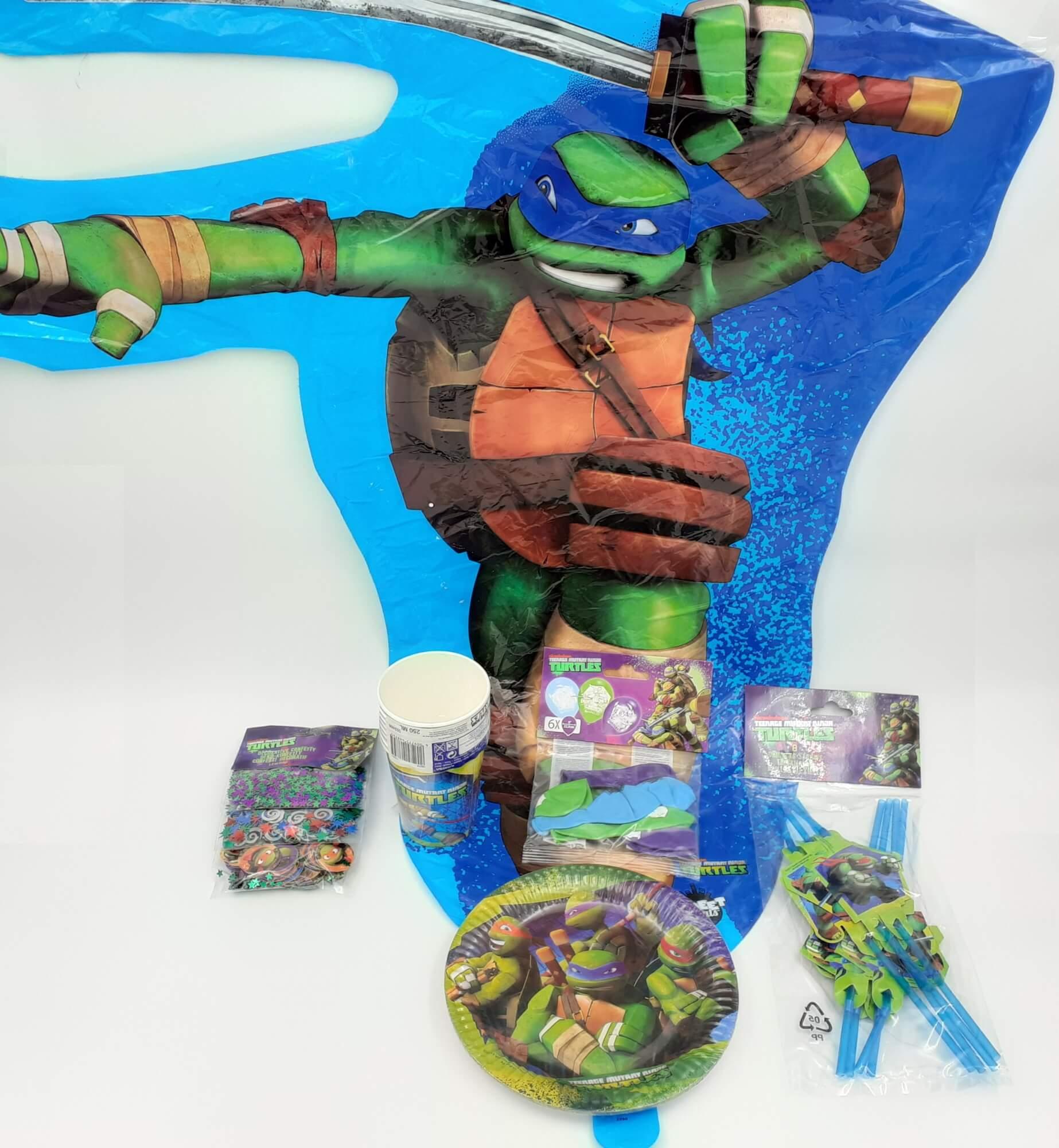 Ninja Turtles Nindža Kornjače party SET 6 u 1
