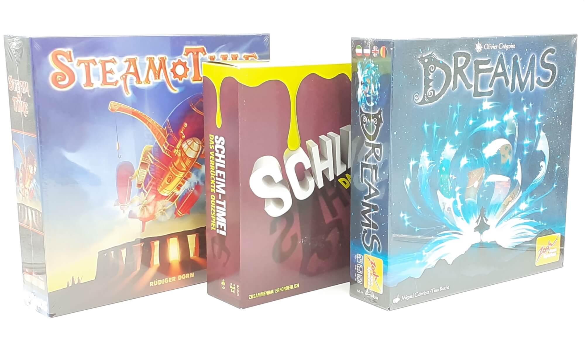 Društvene igre Dreams, Steam Time i Schleim Time SET 3u1