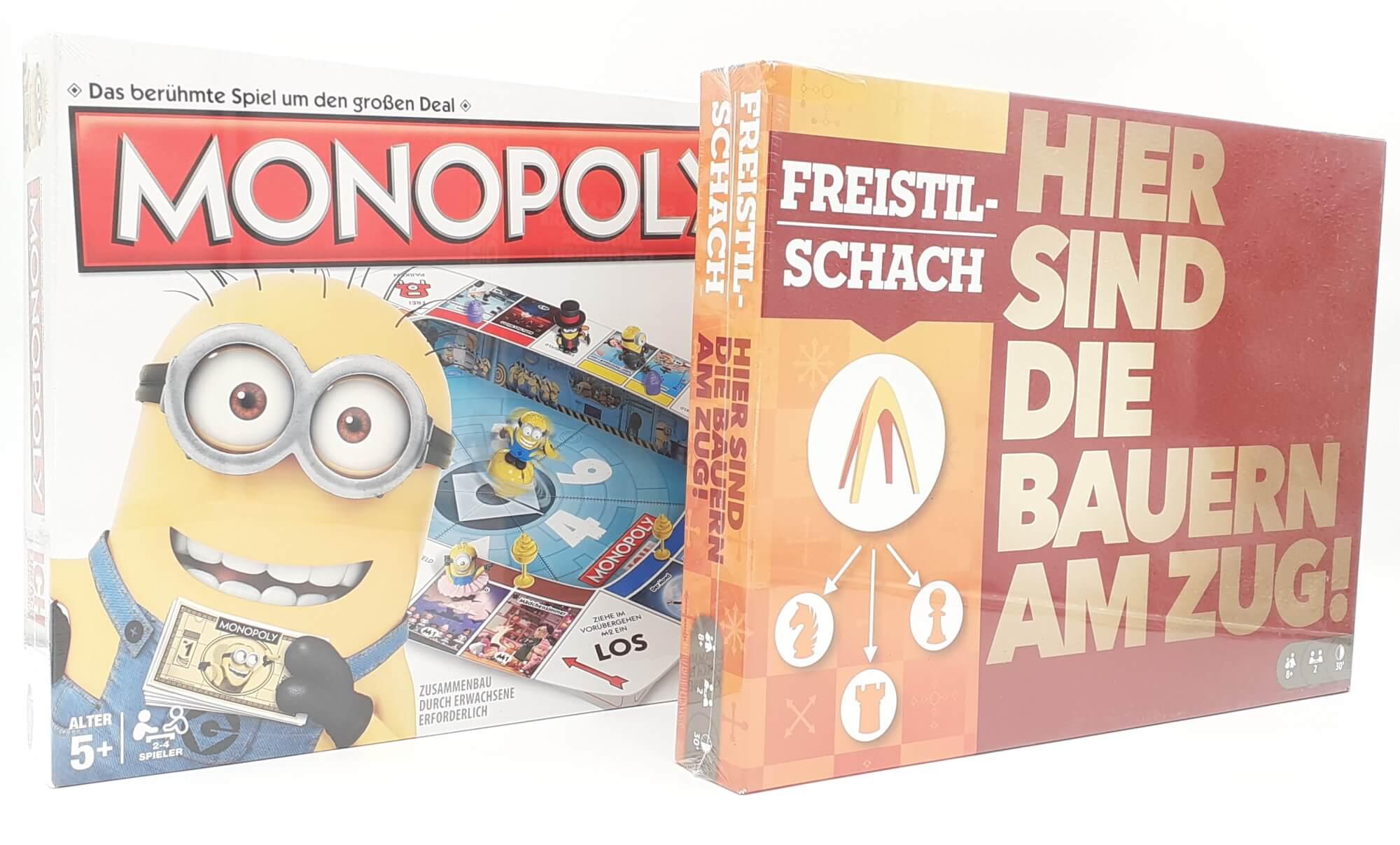 Društvene igre Minions Monopol i Omni Šah SET 2u1