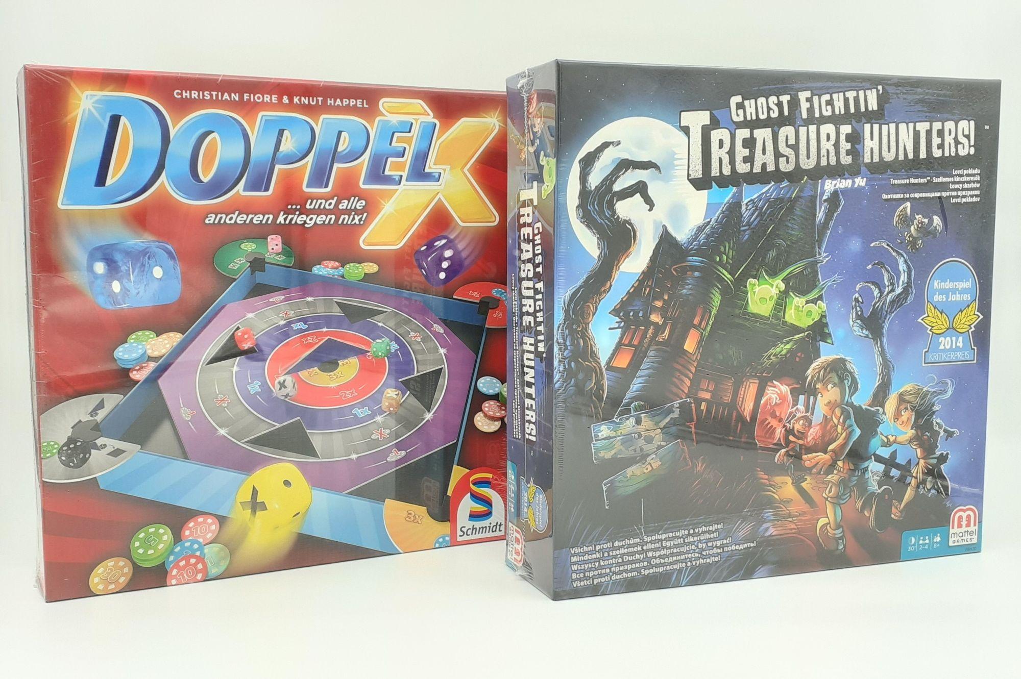 Društvene igre Doppel X i Ghost Fightin' Treasure Hunters set 2u1