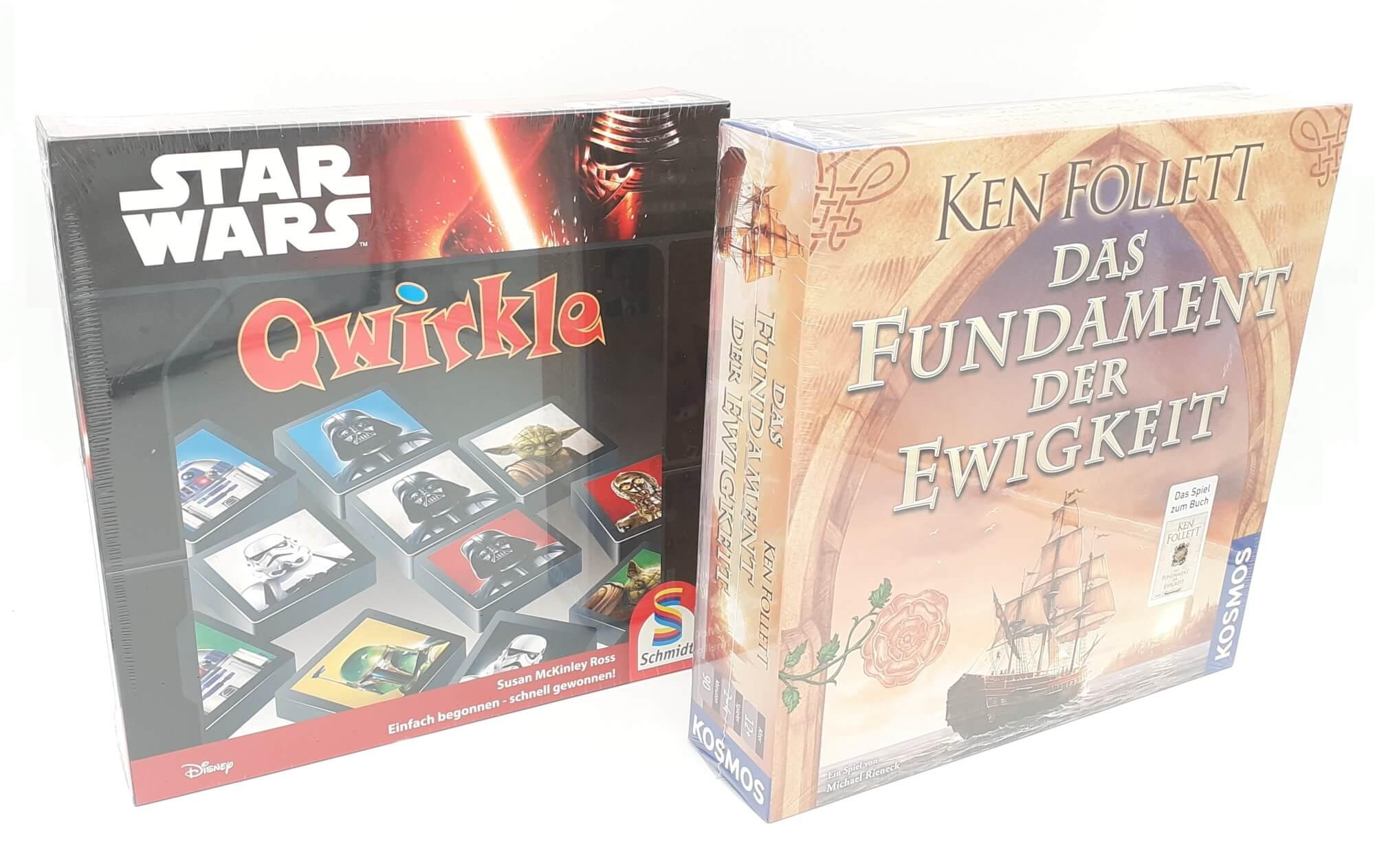 Društvene igre Temelji Večnosti i Star Wars Qwirkle SET 2 u 1