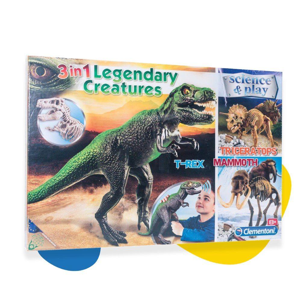 Clementoni Science & Play T-Rex dinosaurus sa zvukom