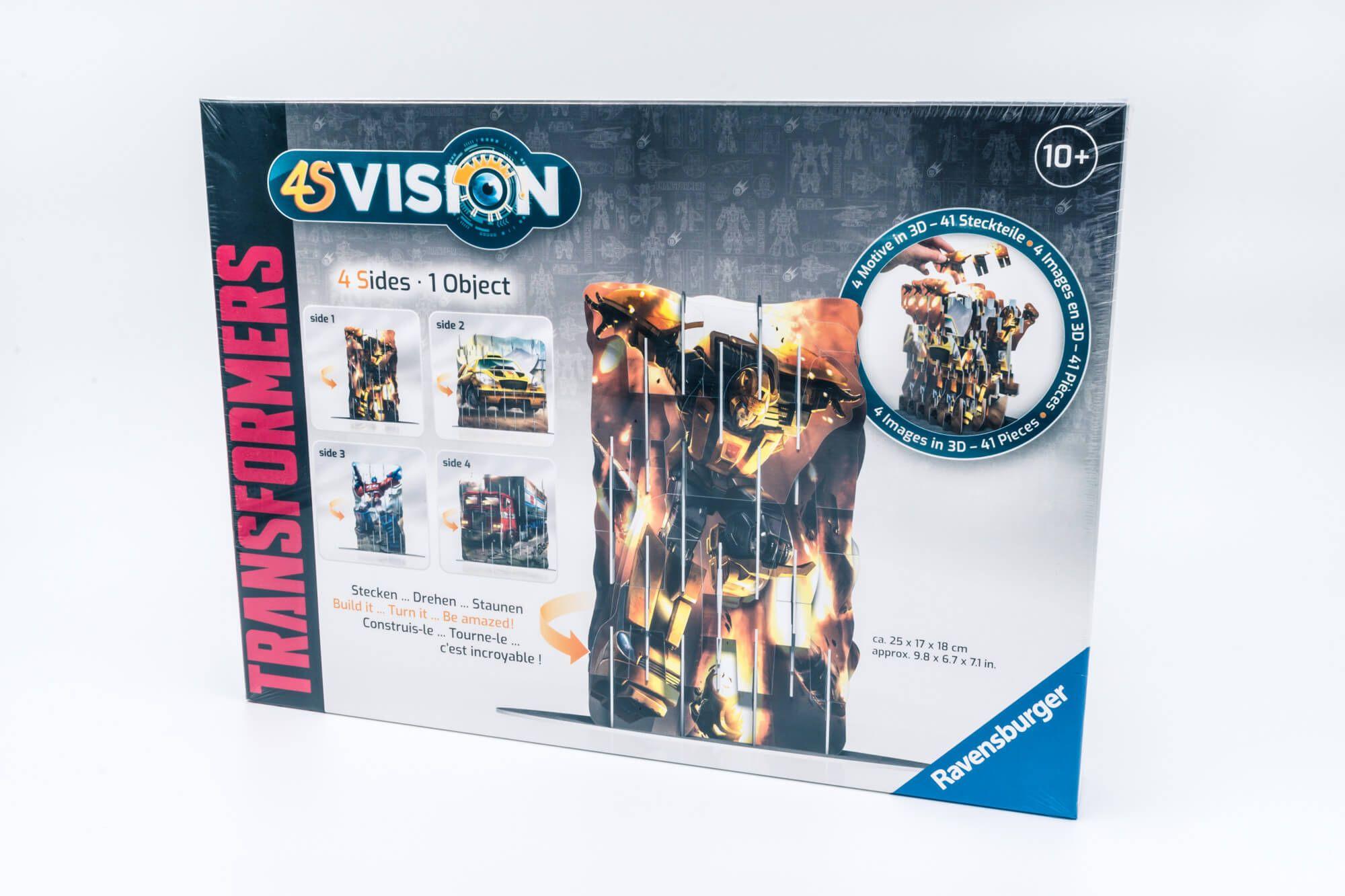 Ravensburger 4S Vision Puzzle Transformersi
