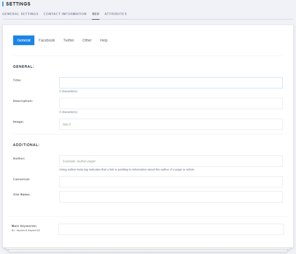 Website settings for specific language-3