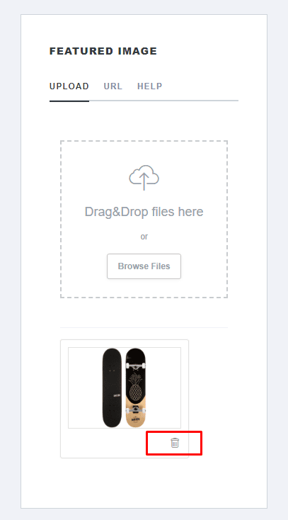 Deleting product images-1