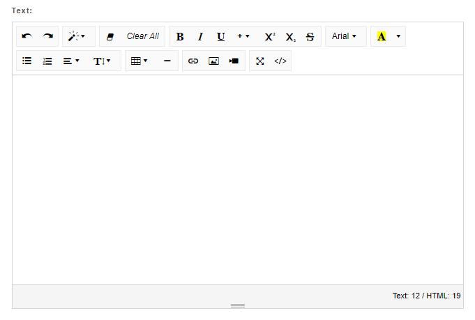 Rich text editor-0